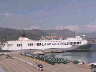 SCANDOLA à Ajaccio - Photo X. Maillard (20 mai 2002)