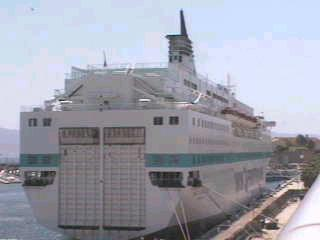 Méditerranée !  - anciennement Danielle Casanova - photographié à Ajaccio le 05 mai 2002 (Photo X. Maillard)
